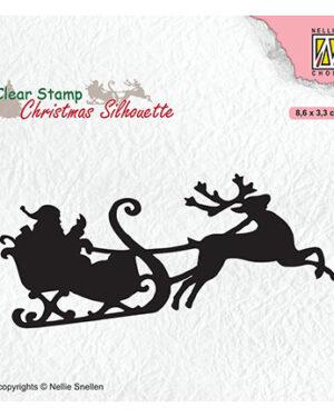 CSIL011 – Santa Claus with reindeer sleight
