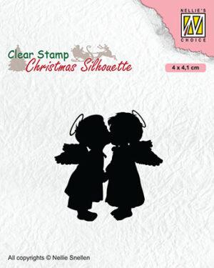 CSIL012 – Two kissing angels