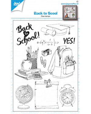 6410/0528 – Clearstamps – Back to school