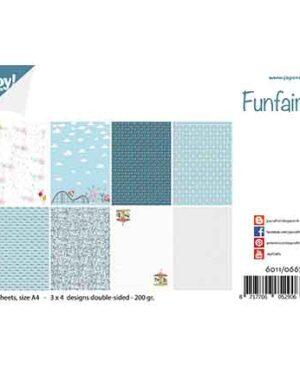 6011/0667 – Papierset – Design Funfair