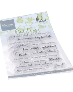 CS1065 – Clear Stamps – Opkikkers by Marleen