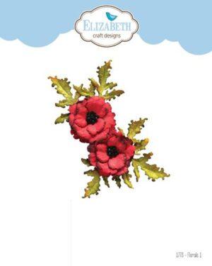 Elizabeth Craft Designs -The Paper Flower Collection – Florals 1