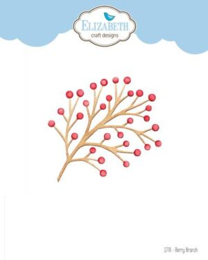 Elizabeth Craft Designs -The Paper Flower Collection – Berry Branch & Twig