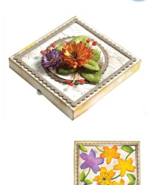 Elizabeth Craft Designs -The Paper Flower Collection – Pizza Box