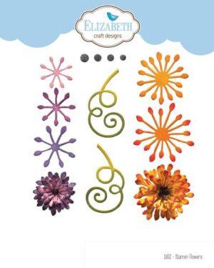 Elizabeth Craft Designs -The Paper Flower Collection – Stamen Flowers