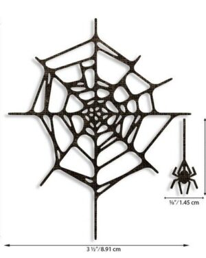 Sizzix Thinlits Die Set – Spider Web 2PK 664747 Tim Holtz