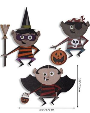 Sizzix Thinlits Die Set – Trick or Treater 18PK 664751 Tim Holtz
