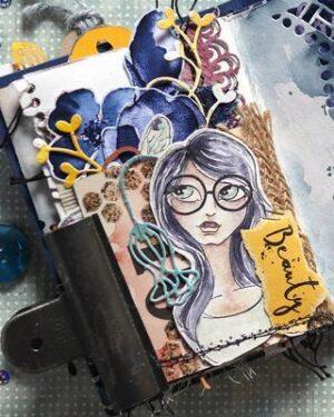 Elizabeth Craft Designs – Funky Chicks CS180
