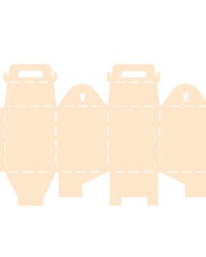 6005/0007 – Polybesa stencil giftdoos met sluiting