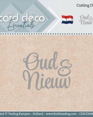 Card Deco Essentials – Cutting Dies – Oud en Nieuw CDECD0042