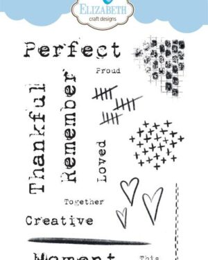 Elizabeth Craft Designs – Journaling Elements CS156