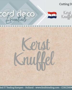 Card Deco Essentials – Cutting Dies – Kerst Knuffel CDECD0040