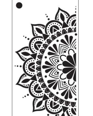 Elizabeth Craft Designs Spring Flower Mandala S033