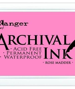 Ranger Archival Ink pad – rose madder AIP30638