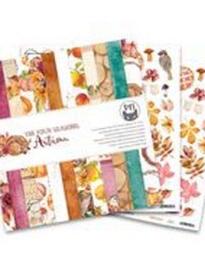 Piatek13 – Paper pad The Four Seasons – Autumn, 12×12 P13-AUT-08
