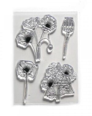 Elizabeth Craft Designs – Poppy Dream CS182