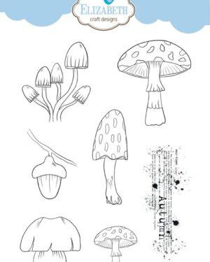 Elizabeth Craft Designs – Autumn Surprise CS151