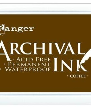 Ranger Archival Ink pad – coffee AIF31451