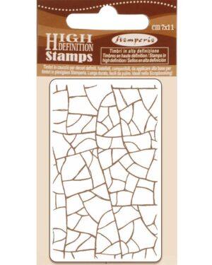 Stamperia Natural Rubber Stamp Crackle (WTKCC183)