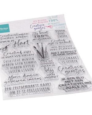 CS1071 – Clear Stamps – Creatieve groetjes