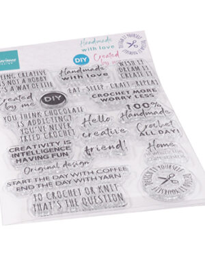 CS1072 – Clear Stamps – Crafting sentiments