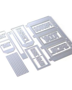 Planner Essentials 31 – Slider Pockets 1806