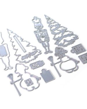 Planner Essentials 34 – Christmas Figures 1809