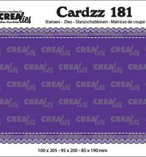 Crealies Cardzz Slimline A CLCZ181 100 x 205 mm