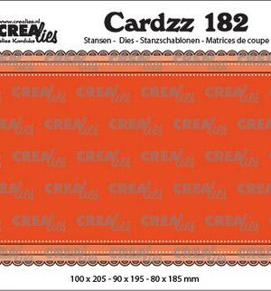 Crealies Cardzz Slimline B CLCZ182 100 x 205 mm