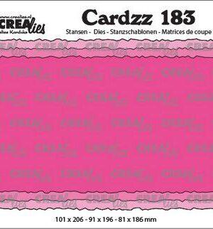 Crealies Cardzz Slimline C CLCZ183 100 x 205 mm