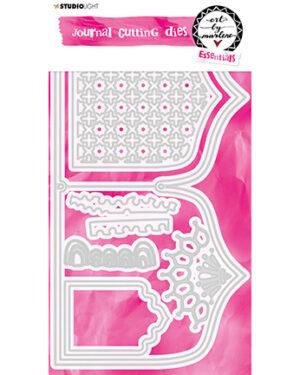 STENCILBM13 – Art By Marlene Cutting & Embossing Die Journal, nr.13