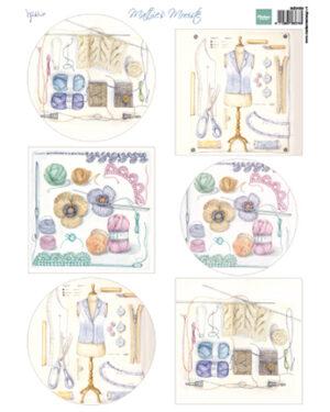 MB0189 – Decoupage – Mattie's Mooiste – Crochet