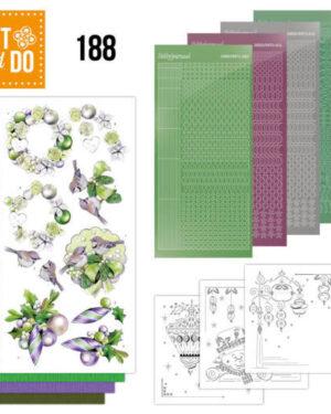 Dot and Do 188 – Jeanine's Art – Purple Christmas Baubles