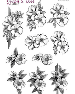 3D Cutting Sheet – Yvon's Art – Condolence