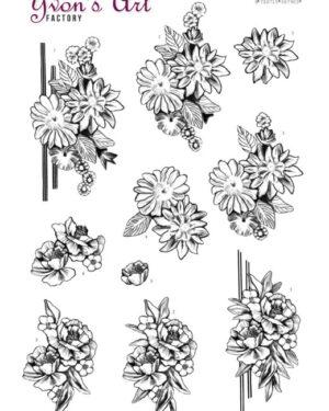 3D Cutting Sheet – Yvon's Art – Condolence 2