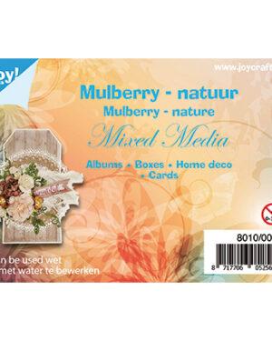 8010/0003 – Mulberry boombastvezels voor oa. Mixed Media-bruin