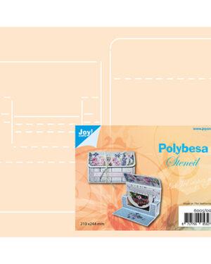 6005/0011 – Polybesa stencil – Envelop voor kadokaart