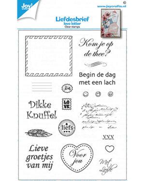 6410/0538 – Clearstamp – Loveletters