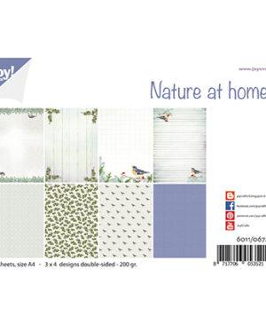 6011/0672 – Papierset – Design Nature at home