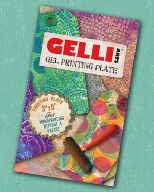 Gelli Arts – Gel Printing Plate 7.6×12.7cm GEL3X5