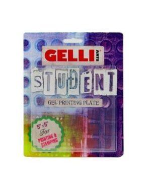 Gelli Arts – Gel Printing Plate 12.7×12.7cm GEL5X5