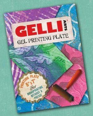 Gelli Arts – Gel Printing Plate 12.7×17.8cm GEL5X7