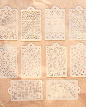 Pattern Stencil Pack S040