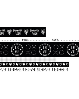 WASHIFWL18 – Studio Light – Washi Tape – Filled With love – nr.18