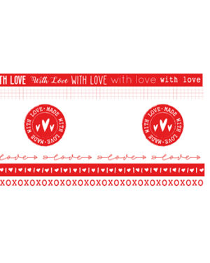WASHIFWL19 – Studio Light – Washi Tape – Filled With love – nr.19