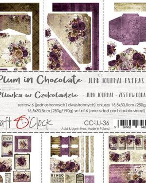 Craft O' Clock – Plum in Chocolate – Junk Journal Set