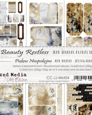 Craft O' Clock – Beauty Restless – Junk Journal Set