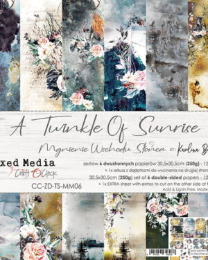Craft O' Clock – A Twinkle of Sunrise – Paperpad 30.5 x 30.5 cm