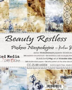 Craft O' Clock – Beauty Restless – Paperpad 20.5 x 20.5 cm