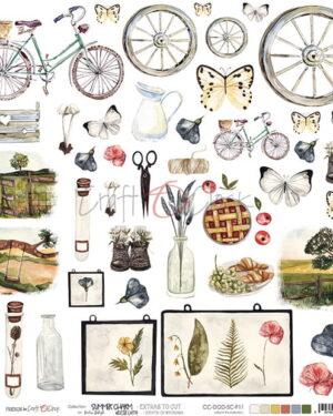 Craft O' Clock – Summer Charm – Extras to cut